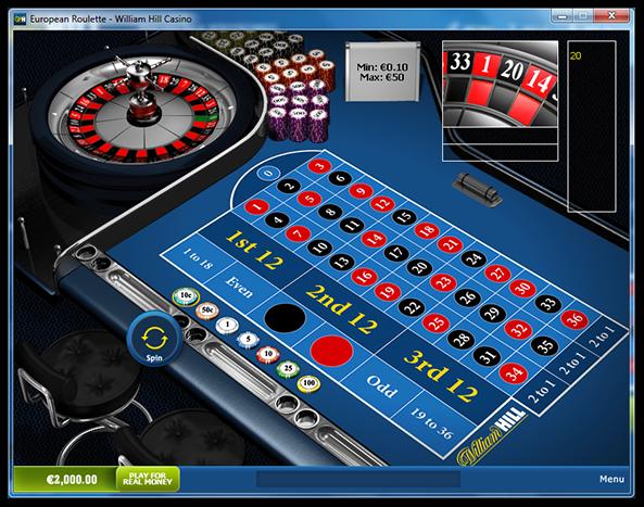 Roulette hjul William 66936