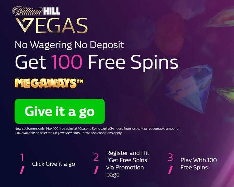 Vegas vinn freespins William 32734