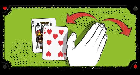 Blackjack strategi med en 20778