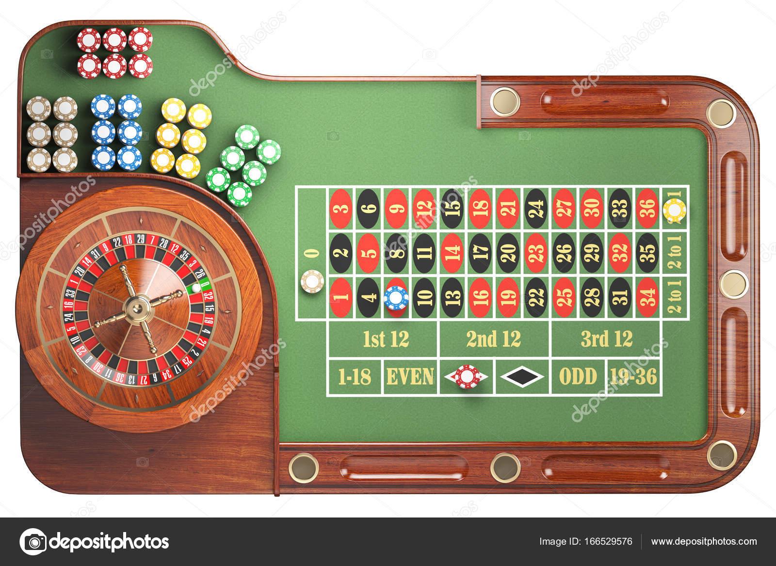 Roulette grön snabba 60354