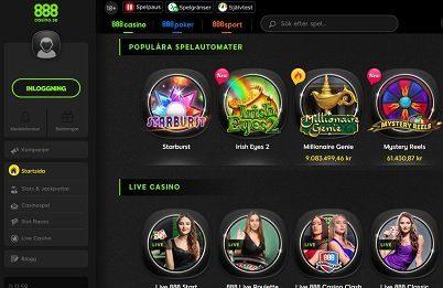 888 casino omsättningskrav 57457