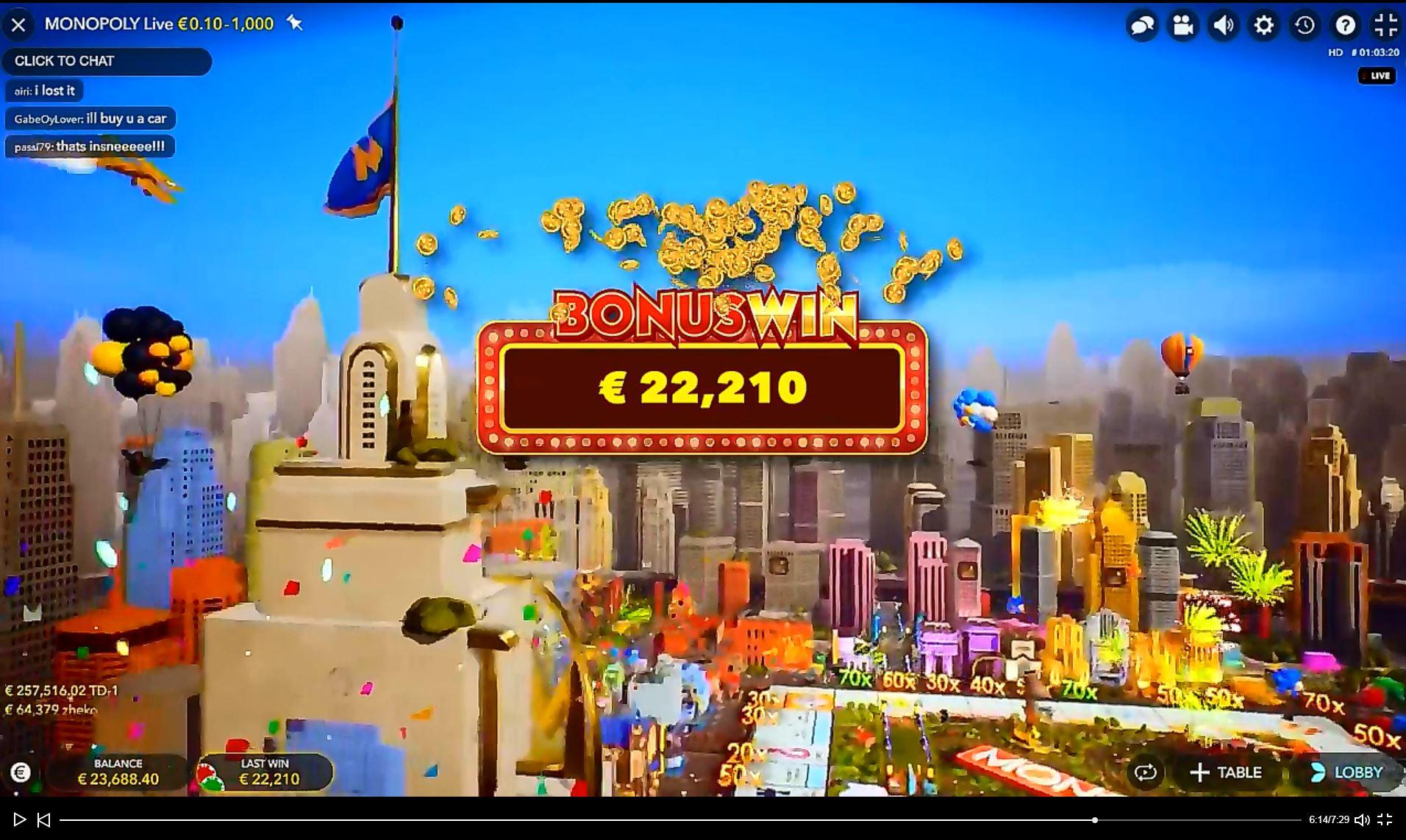 Biggest casino wins 26582