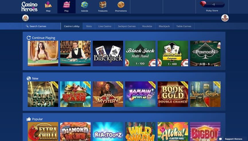 Casino heroes recension Black 53290