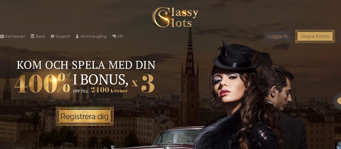 Classy slots recension innan 11939