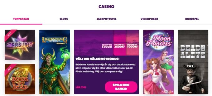 Casino som accepterar 48883