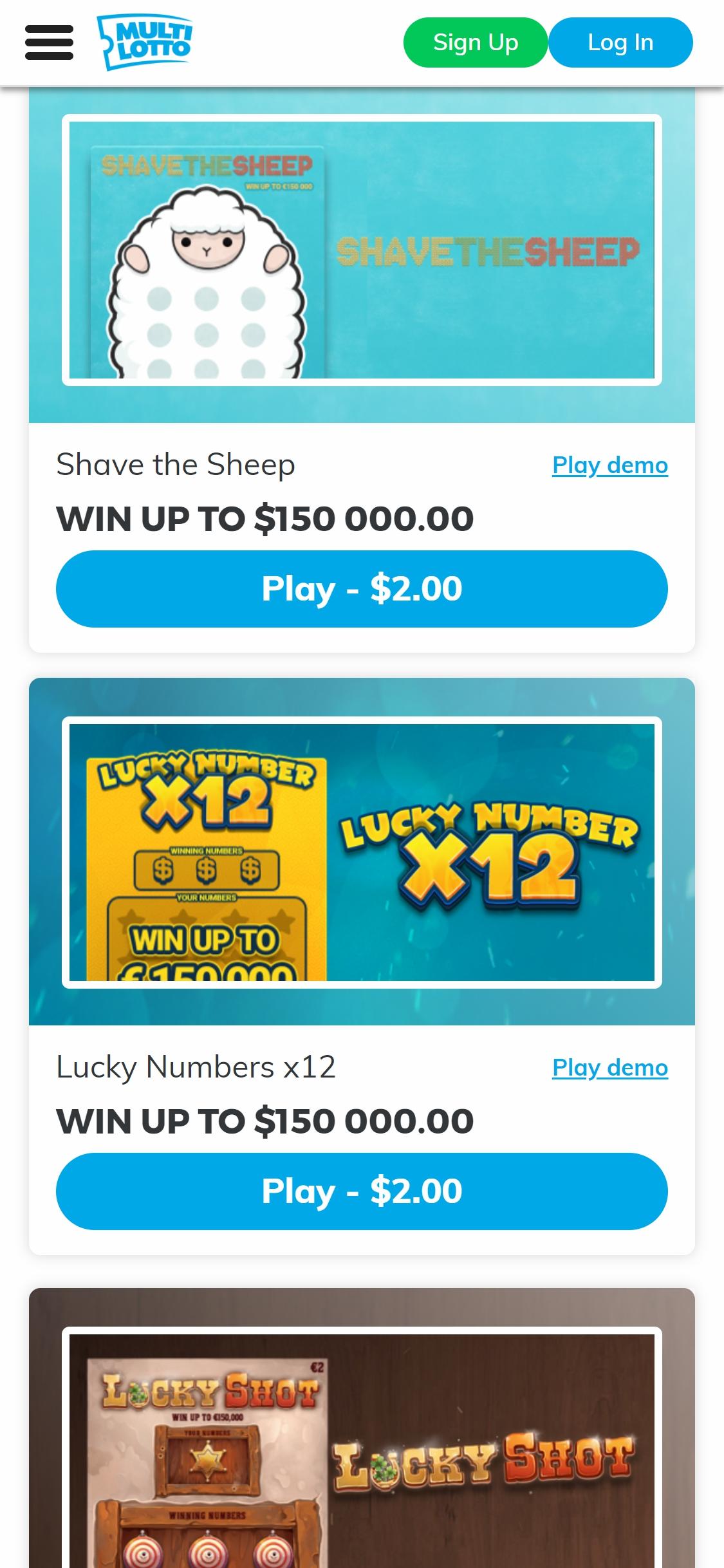 Multi lotto casino 28613
