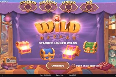 Progressiv jackpott Wild Bazaar 30190