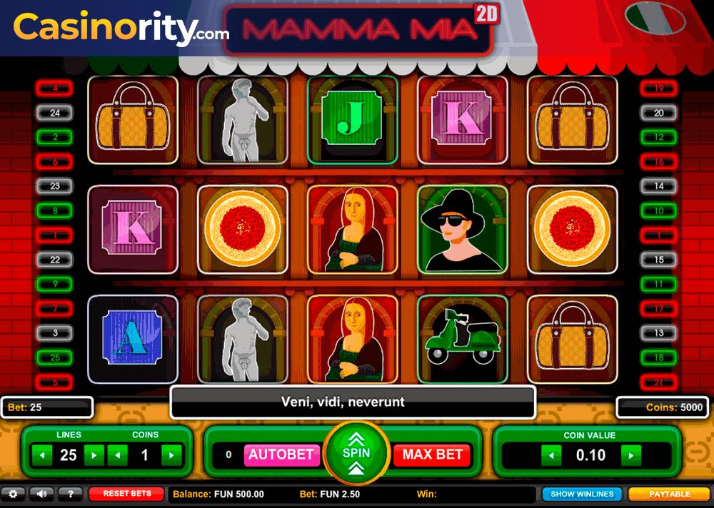 Vegas cash drop Mama 36978